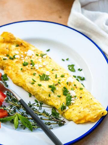 Artichoke Omelette Recipe