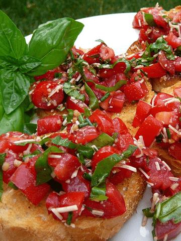 Bruschetta recipe for the taste experts